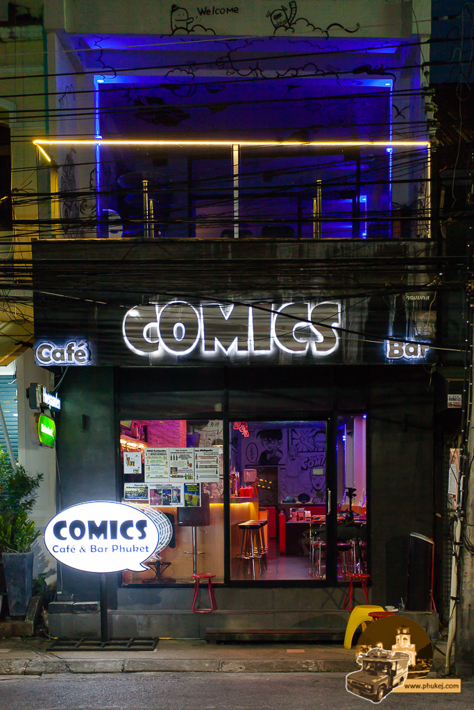 Comics Cafe & Bar Phuket